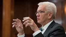 """""""Mitverantwortung des Staates"""": Kretschmann verteidigt den Diesel"""