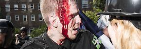 Aufruhr in Charlottesville: Rechter tötet und verletzt Gegendemonstranten