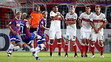Cottbusser Elfer-Drama: VfB Stuttgart zieht den Kopf aus der Schlinge