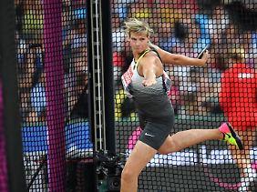 Platz sechs: Nadine Müller.