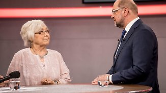 Townhall-Meeting in voller Länge: An einem Tisch mit Martin Schulz