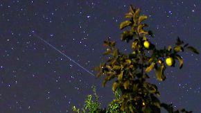 Dienstag neuer Regen im Anmarsch: Nachts können Sternschnuppengucker Glück haben
