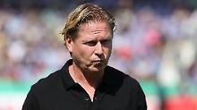 Lachnummer nach Pokalpleite: Gisdol faltet HSV-Versager zusammen