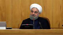 """Trump ist """"kein guter Partner"""": Iran droht, Atomabkommen zu verlassen"""