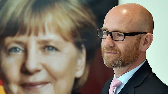 Die Kanzlerin und ihr General: Peter Tauber brachte die CDU wieder auf Kurs.