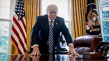 Zug überrollt CNN-Reporter: Wieder twittert sich Trump ins Abseits