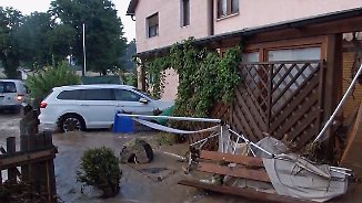 Neue Überschwemmungen: Kleinstadt in Bayern steht unter Wasser