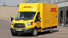 """""""Gigantische Entwicklung"""": Post will mit E-Transporter auf den Markt"""