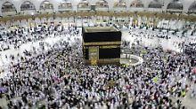 Konflikt am Persischen Golf: Saudis öffnen Grenze für Pilger aus Katar