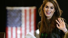 Beratergremien aufgelöst: Trump ernennt 28-Jährige zur Kommunikationschefin
