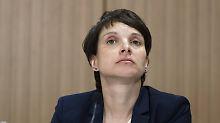 Verdacht des Meineids: AfD-Chefin Petry verliert wohl Immunität