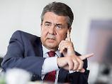 Sigmar Gabriel sieht in der Trump-Politik eine Gefahr für deutsche Unternehmen.
