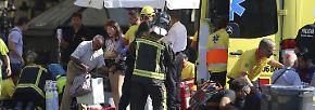 Liefervan rast in Menschenmenge: Tote und Verletzte bei Terroranschlag in Barcelona