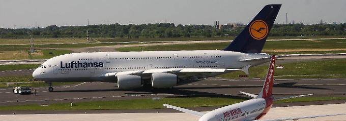 Lufthansa-Monopol droht: Studie stützt Zweifel an Air-Berlin-Übernahme