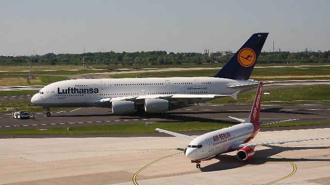 Deutschlands größte Fluggesellschaft könnte bald Air Berlin übernehmen.