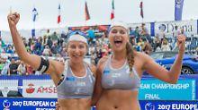 Beachvolleyball-Sensation: Glenzke/Großner holen verrücktes EM-Gold