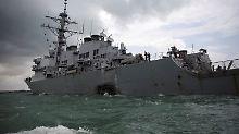 "Seeleute nach Kollision vermisst: Das Rätsel der ""McCain"""