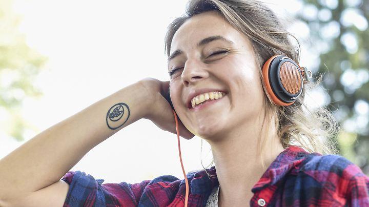 Richtiges Hörvergnügen gibt's nur mit dem passenden Kopfhörer.