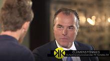 """Tönnies bei """"Klamroths Konter"""": """"Schalke muss man können"""""""