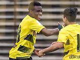 Moukoko, 12, spielt für U16: DFB nominiert BVB-Kind