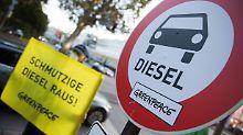 Doch noch Diesel-Fahrverbote?: Gipfelbeschlüsse wirken sich kaum aus