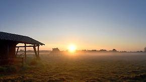 Im Süden bis zu 30 Grad: Schauer und Gewitter lösen die Sonne ab