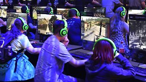 E-Sports und Retro-Klassiker: Warteschlangen bei der Gamescom