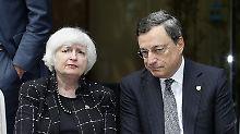Draghi und Yellen sind ruhig: Steht ein Währungskrieg bevor?