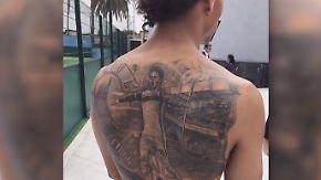 Starkicker und ihre Tattoos: Wenn Fußballliebe unter die Haut geht