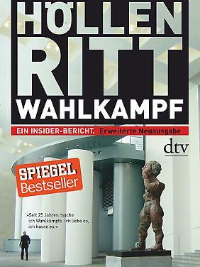 """In seinem inzwischen überarbeiteten Buch """"Höllenritt Wahlkampf: Ein Insider-Bericht"""" schreibt Stauss über seine Erfahrungen im Wahlkampf."""