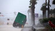 … sieht sich der US-Präsident mit einem schweren Sturm konfrontiert.