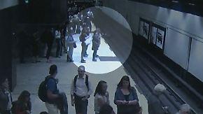 Kaum zu glauben, aber wahr: Beherzte U-Bahn-Passagiere retten Mann von den Gleisen