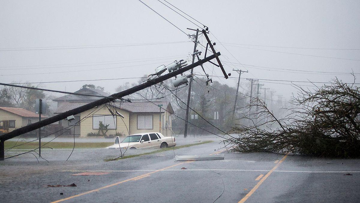 Texas meldet fünf Hurrikan-Tote