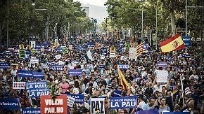 """""""Ich habe keine Angst"""": 500.000 marschieren in Barcelona gegen den Terror"""