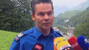 """""""Können niemanden mehr finden"""": Schweizer Polizei stellt Suche nach Wanderern ein"""