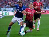 Königsblaue verlieren bei 96: Hannover ringt Schalke nieder