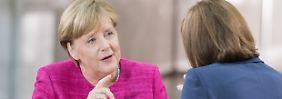 Mobilität bewegt den Wahlkampf: Merkel bekennt sich zu Verbrennungsmotor