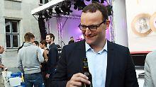 """Interview mit Jens Spahn: """"Vielleicht gehe ich als Kellner nach Sydney"""""""
