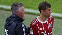 Umfrage: Können Sie sich vorstellen, dass Thomas Müller den FC Bayern wegen seines Zwists mit Trainer Carlo Ancelotti tatsächlich verlässt?