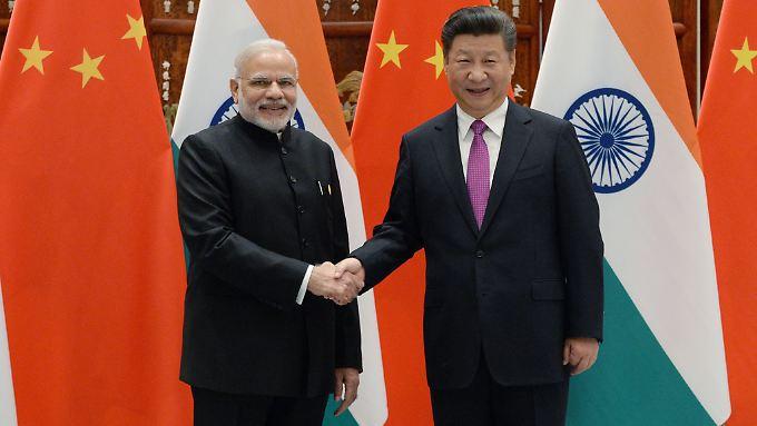 China und Indien legen ihren Konflikt im Himalaya bei. Das Verhältnis der Staatschefs Narendra Modi und Xi Jinping ist abgekühlt.