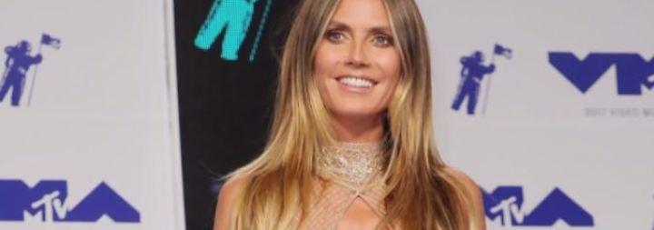 Promi-News des Tages: Heidi Klums Dekolleté sorgt für Gesprächsstoff