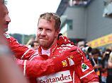 Voller Zuversicht: Sebastian Vettel.