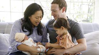 Offener Brief an August: Zuckerberg heißt zweite Tochter willkommen