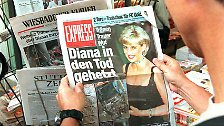 Zäsur für britisches Könighaus: Der Tag, an dem Prinzessin Diana starb