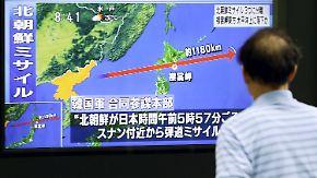 Das war der Morgen bei n-tv: Nordkorea provoziert mit Rakete über Japan