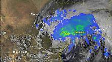 Ungewöhnlicher Starkregen: Die Vorhersagen für die US-Golfküste verheißen nichts Gutes.