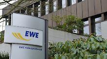 Geschäfte laufen holprig: EWE bricht der Gewinn weg