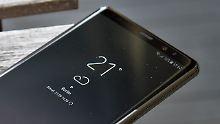 Samsung bricht eigenen Rekord: Note 8 hat das beste Display aller Zeiten