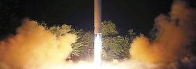 Weitere Raketentests geplant: Nordkorea fühlt sich provoziert
