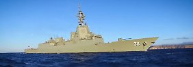 Neue Zerstörer auf hoher See: Australien bereitet Raketenabwehr vor